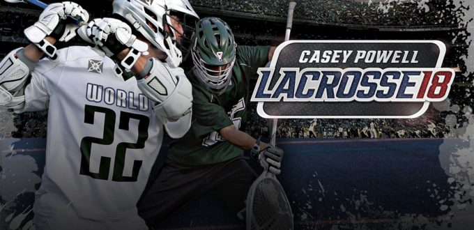 Player 2 Plays - Casey Powell Lacrosse 18